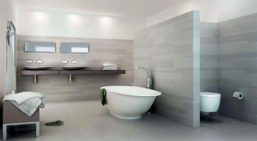 Wc En Badkamers : Een moderne badkamer met een design hangend toilet u woonhome